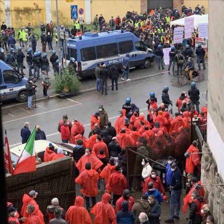 Manifestazione SiCobas