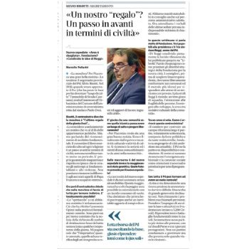 Intervista al segretario  Bisotti