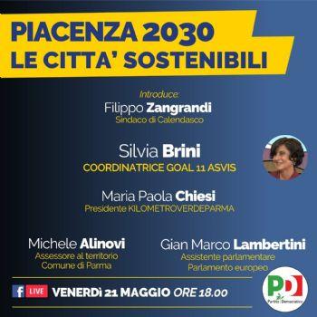 Piacenza 2030 - Le città sostenibili