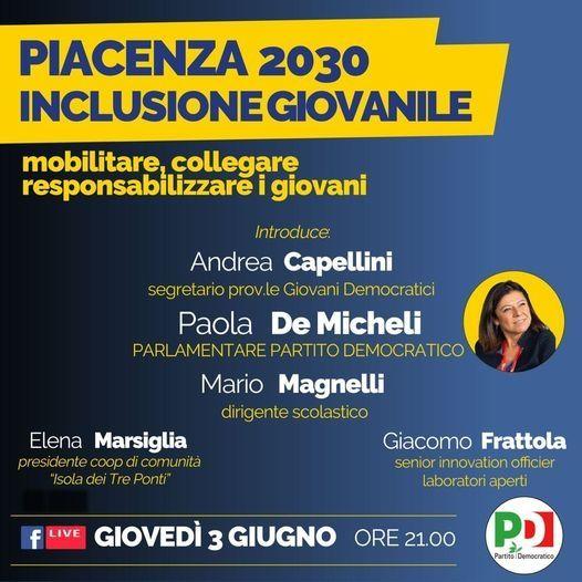 Pc2030 InclusioneGiovanile 202106