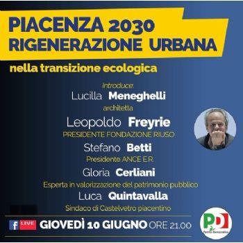 Piacenza 2030 - Rigenerazione Urbana